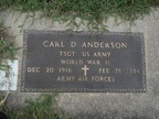 Anderson Carl D